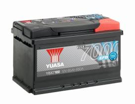 Yuasa YBX7100 - YBX7096 12V 70AH 680A YUASA EFB STA